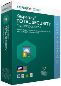 Kaspersky Total Security 2015 para 3 dispositivos, 1 año