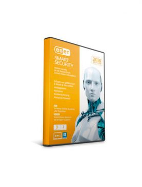 Software ESET Smart Security Edicion 2016 2 PCS+1 ANDROID