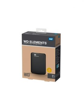 Disco duro Externo WD ELEMENTS 2.5 1TB USB3.0